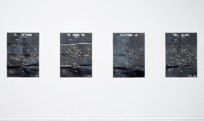 Do It Yourself (night sky experience): installation view